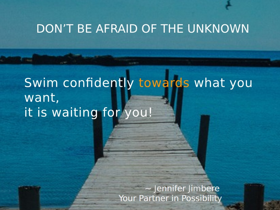 Don't Be Afraid Quote