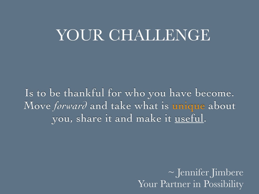 Your Challenge Quote