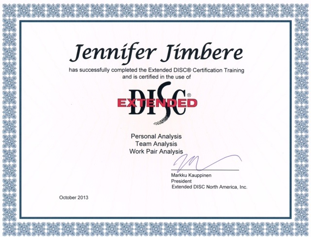 Extended-DISC-Certificate