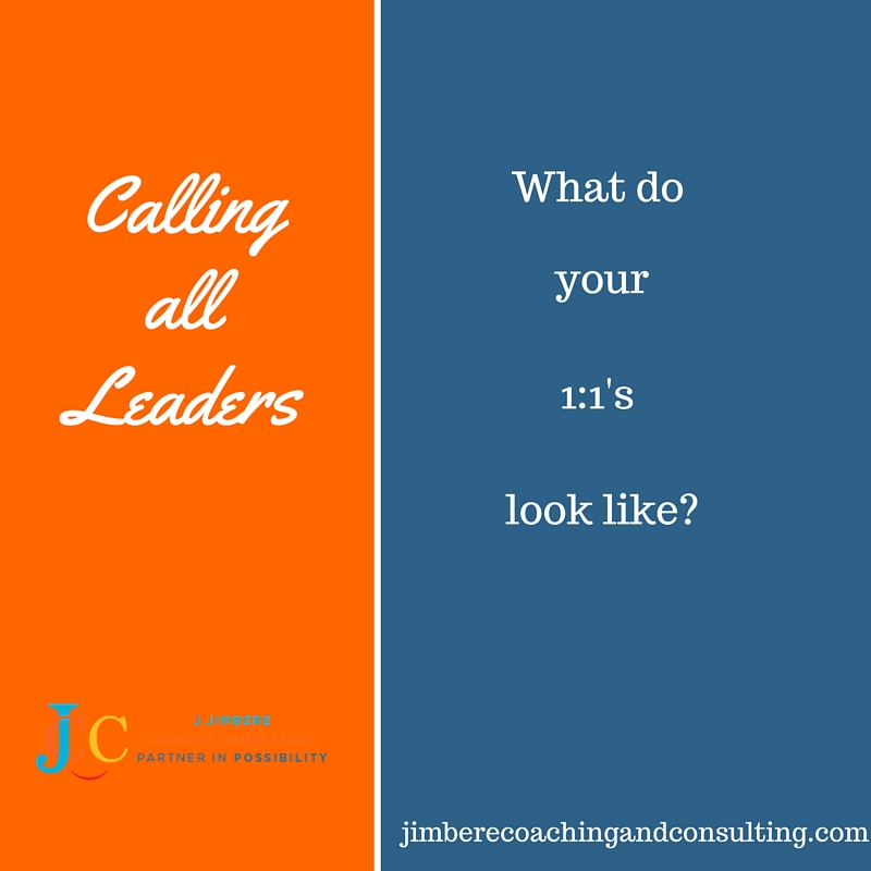 Leaders – Let's talk about your 1:1's