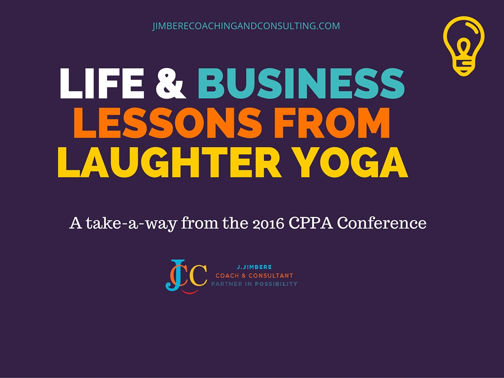 Life & Business lessons from Laughter Yoga