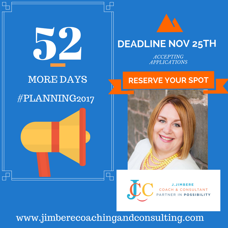 Accepting Applications ► Planning 2017 Coaching