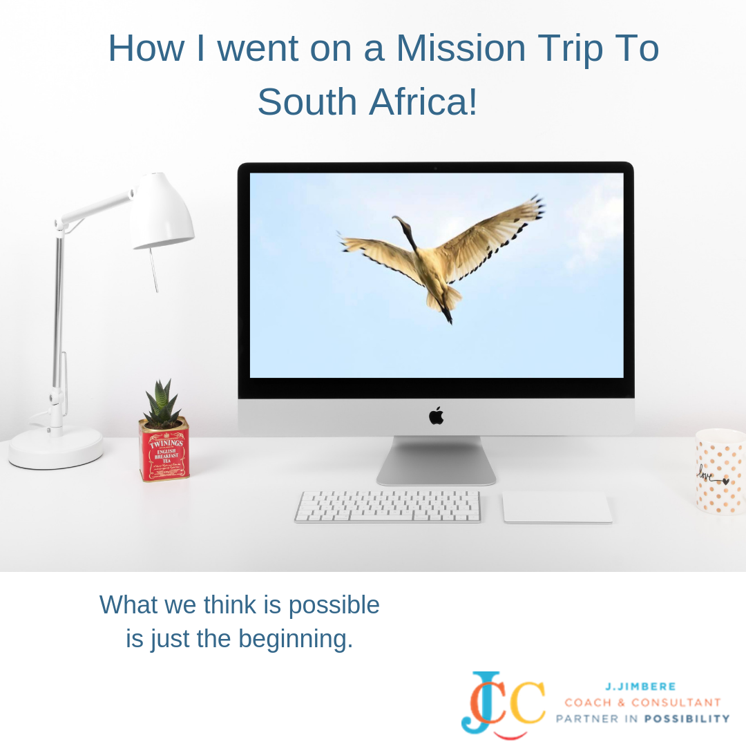 How I Went On A Mission Trip To South Africa…. Learn More!