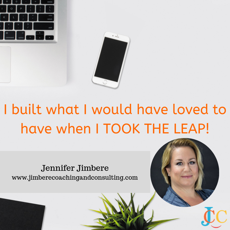 ⁣I built what I would have loved to have when I TOOK THE LEAP!