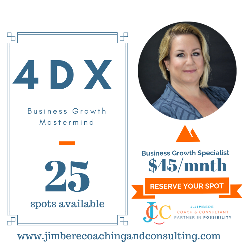 4DX Business Growth Mastermind
