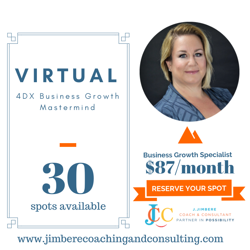 Virtual 4DX Business Growth Mastermind