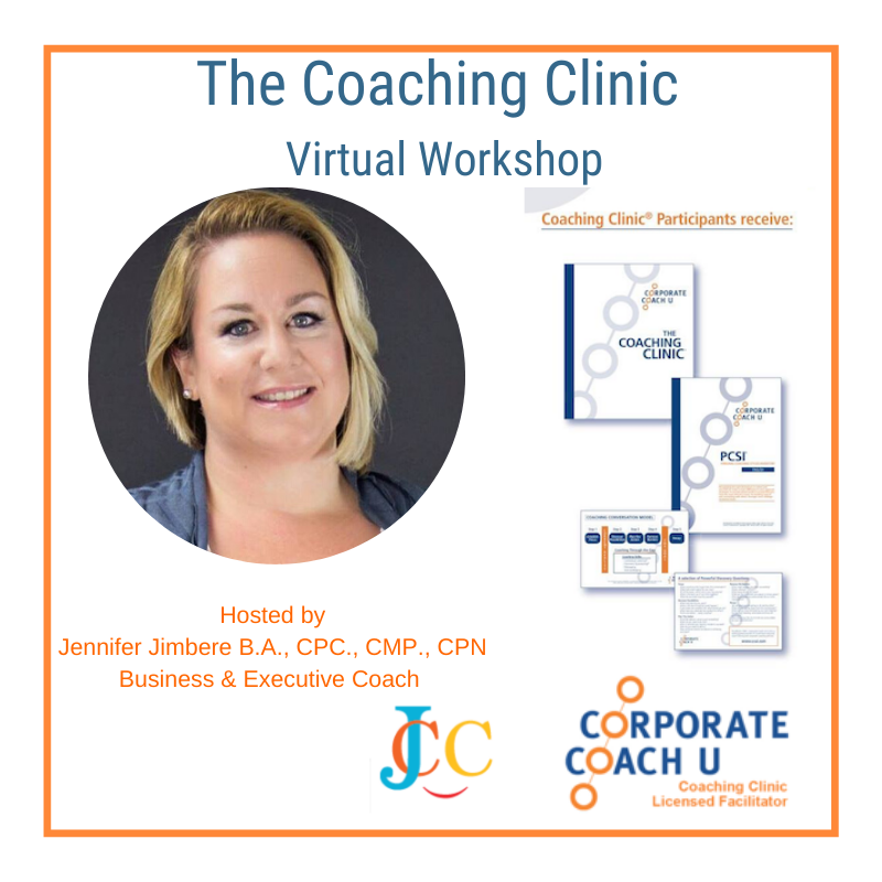 Opportunity: The Coaching Clinic Virtual Workshop
