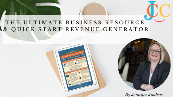 The Ultimate Business Resource & Quick Start Revenue Generator