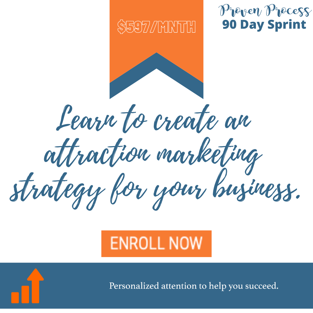 90 Day Sprint: Create Your Attraction Marketing Strategy
