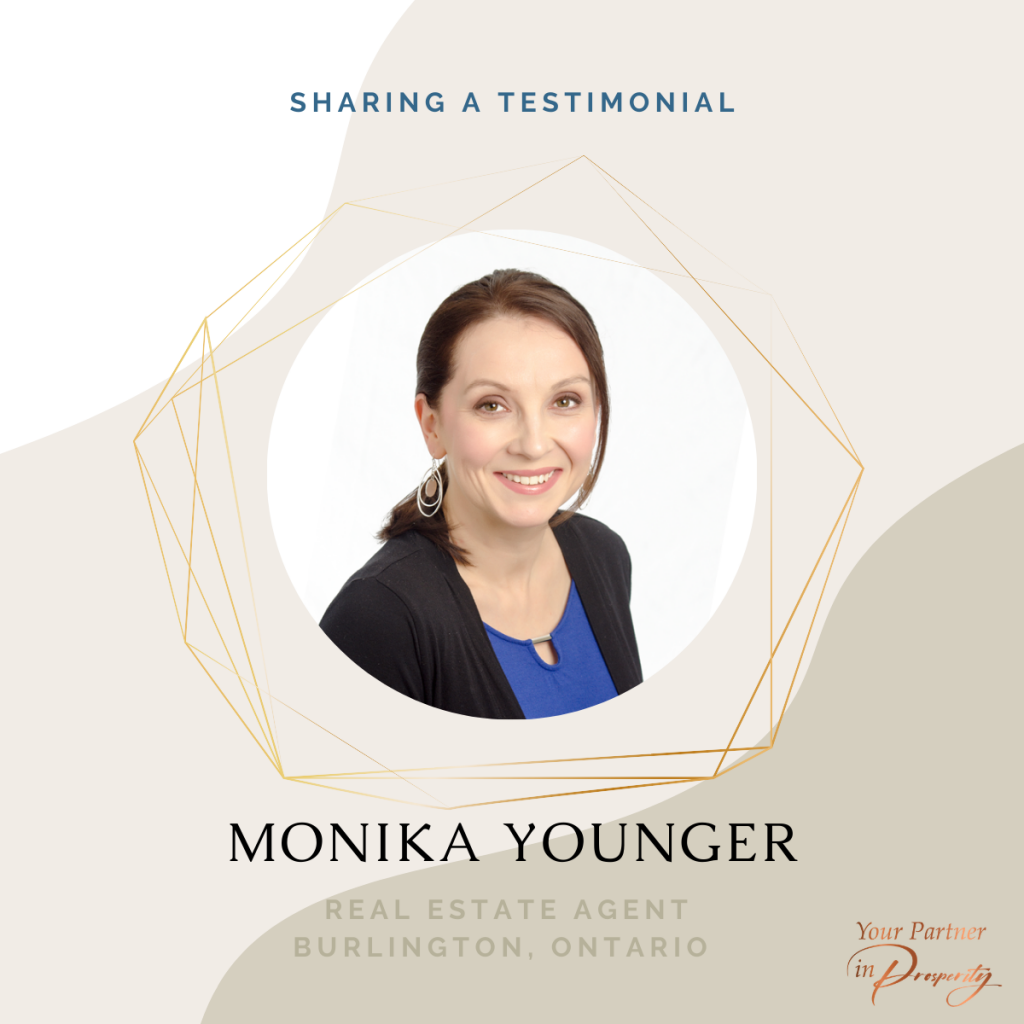 Monika Younger Happy Client
