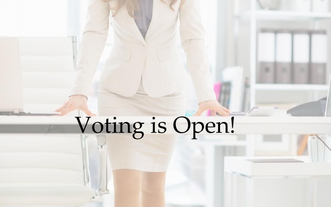 Voting is Open!